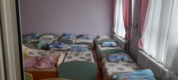 детский сад в России и за границей, разница, фото, спальни в детских садах