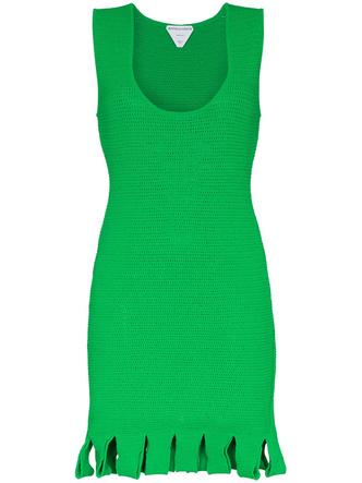 Фото №1 - Green summer: платье Bottega Veneta