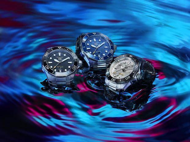 Фото №1 - Морская стихия: TAG Heuer представил новые часы Aquaracer Professional 300