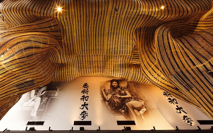 Фото №4 - Инсталляция из ротанга в ресторане Spice & Barley