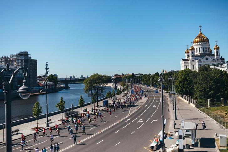 Фото №1 - 20 тысяч человек пробежали Московский полумарафон