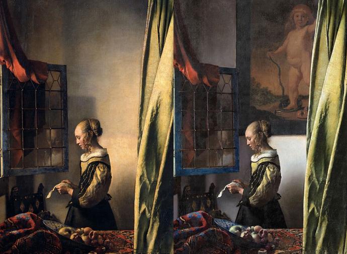 «Раньше было лучше»: картина Вермеера после реставрации вызвала споры в Сети