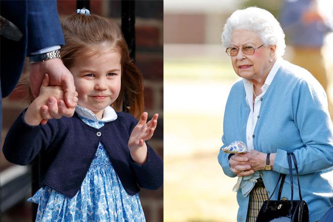 Фото №7 - Принцесса Шарлотта растет копией прабабушки: 4 доказательства
