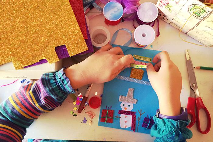 Фото №1 - Новогодняя мастерская: идеи декора для детей и их родителей