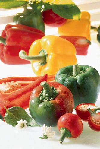 Фото №1 - Праздник на столе: разноцветный перец