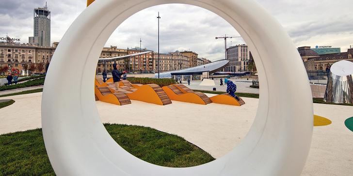 Фото №4 - На Павелецкой площади открылся ландшафтный парк