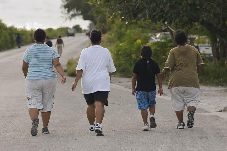 Фото №3 - Карта: Сколько людей с ожирением в разных странах мира