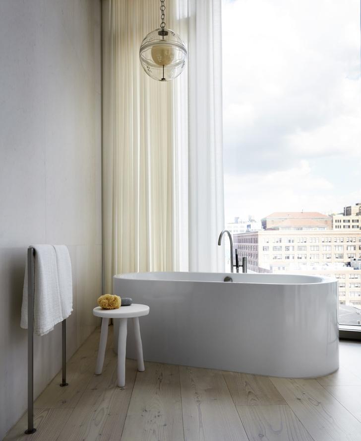 Фото №8 - Дизайнерские апартаменты с видом на Гудзон
