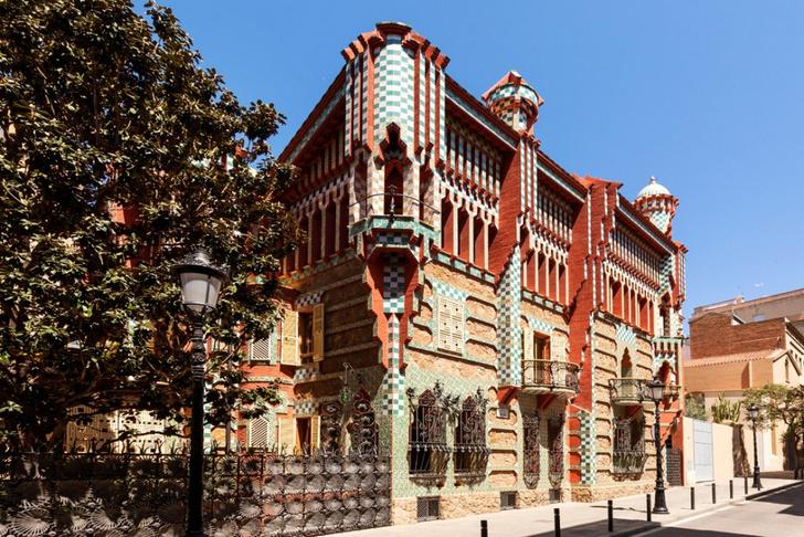 Фото №1 - Casa Vicens Антонио Гауди в Барселоне сдается через Airbnb