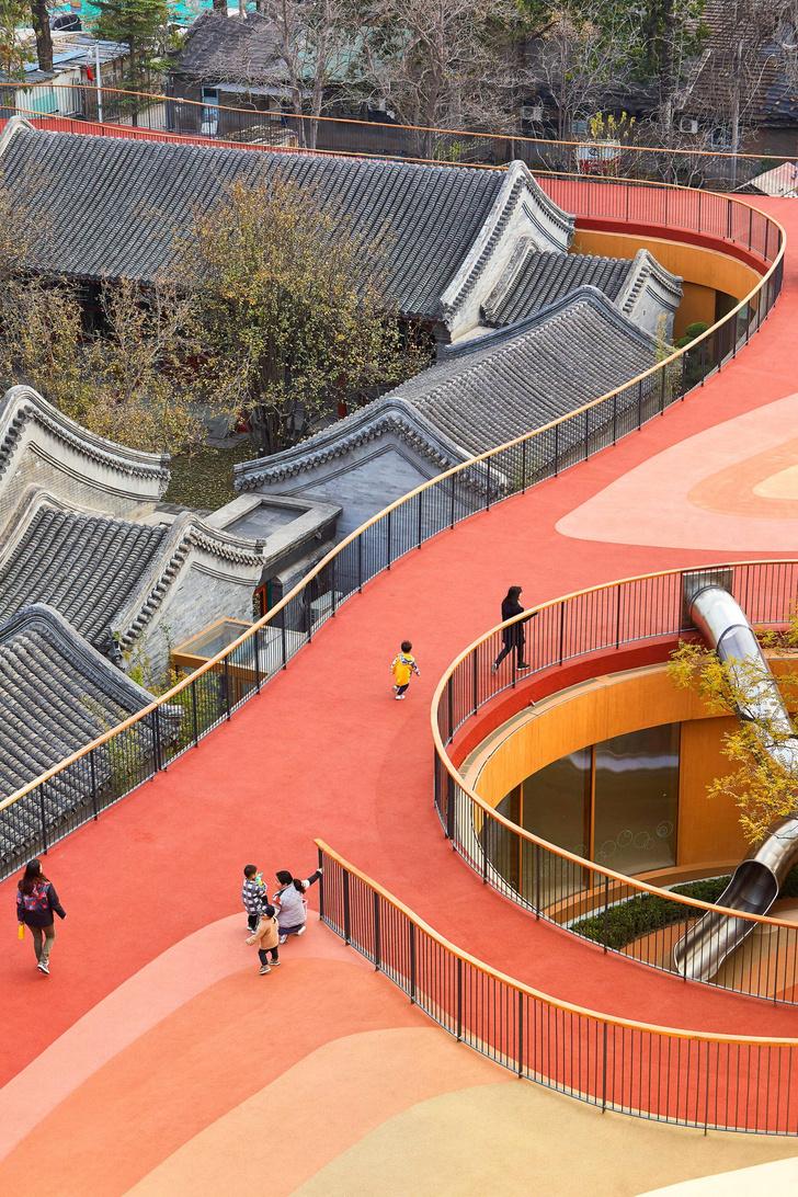 Фото №3 - Детский сад с игровой площадкой на крыше