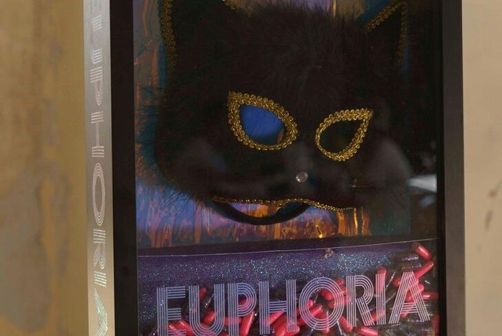 Фото №2 - Маску кошечки Барби Феррейры из «Эйфории» продадут на аукционе 😍