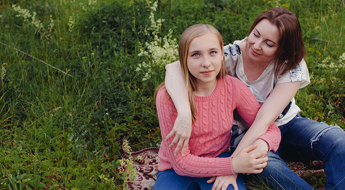 Как помочь девочке-подростку не переживать из-за фигуры