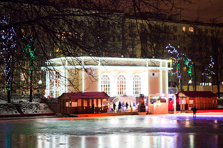 Бесплатные катки в Москве 2018