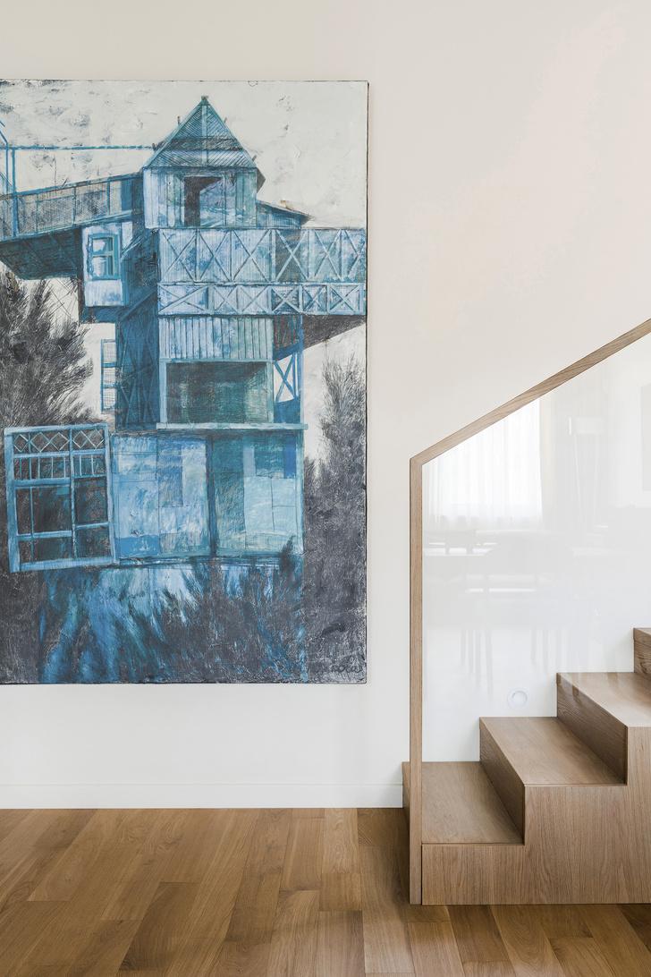 Фото №5 - Квартира с современным искусством в Москве