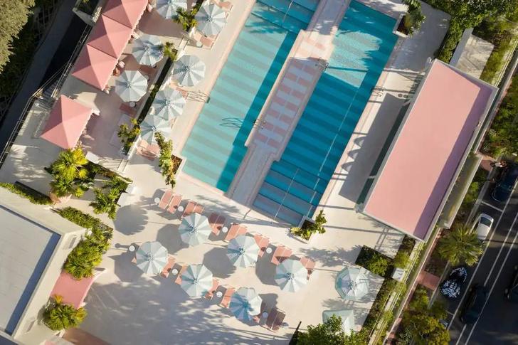 Фото №18 - The Goodtime Hotel: атмосферный отель в Майами по дизайну Кена Фалка