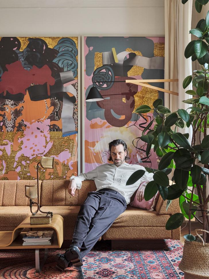 Фото №2 - Квартира художника Сергея Бондарева в Санкт-Петербурге