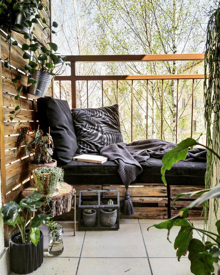 Фото №7 - Маленький балкон: полезные советы по оформлению