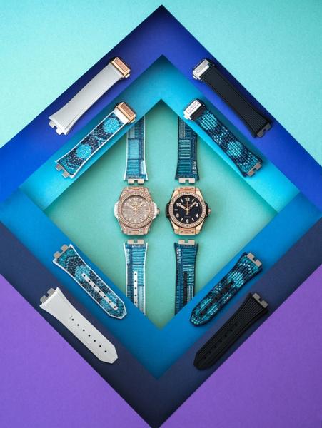 Фото №3 - Одни часы — десяток вариантов: Hublot выпустил коллекцию ремешков для моделиBig Bang