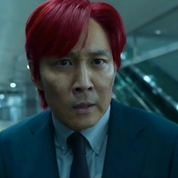 Фото №1 - «Игра в кальмара»: почему главный герой покрасил волосы в красный цвет?
