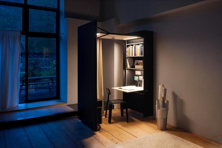 Фото №5 - Der Vorstand: складной домашний офис от Nils Holger Moormann