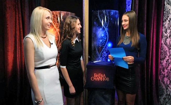 В Челябинске телеканал Пятница устроил Битву салонов, съемки