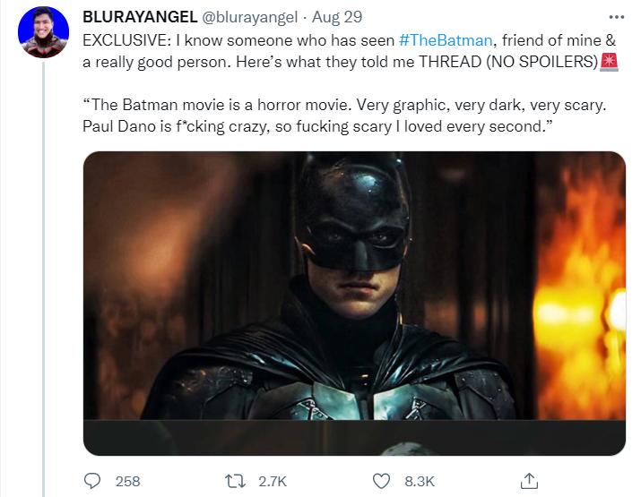 Фото №2 - В Сети появились первые впечатления о новом фильме «Бэтмен» с Робертом Паттинсоном 😲