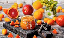 Морковный мармелад с манго и маком