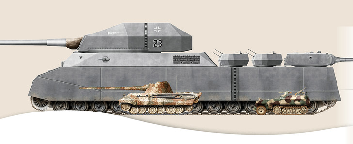 Фото №2 - Самые уродливые танки, созданные за всю историю вооружений. Часть II