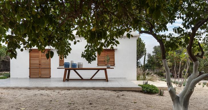 Фото №1 - Средиземноморская вилла в апельсиновой роще в Израиле