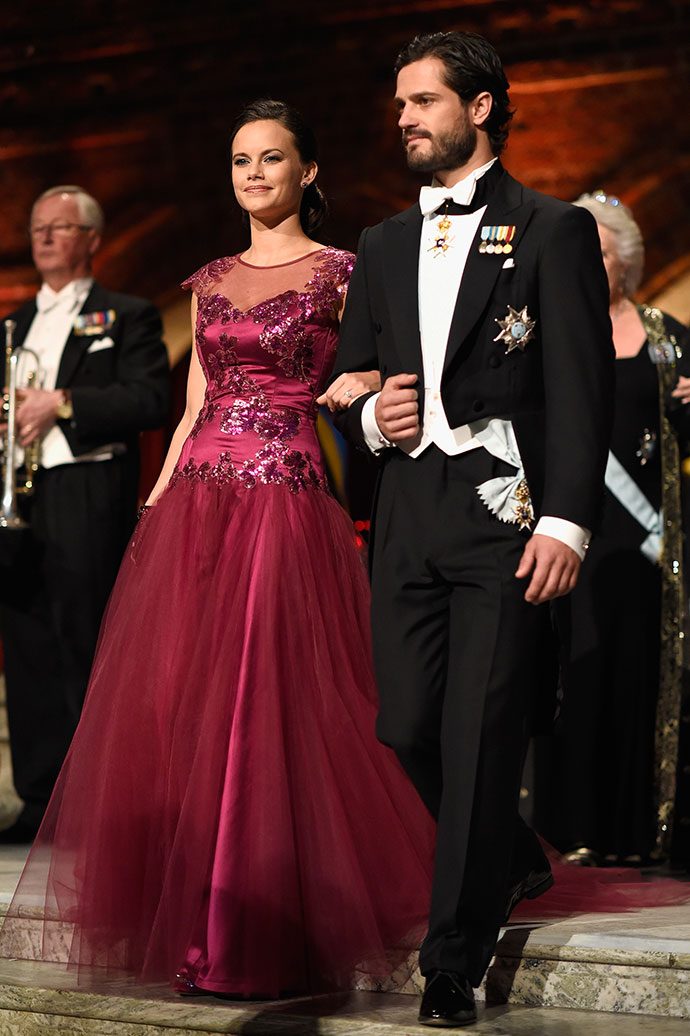 Принц Швеции Карл Филипп и София Хэллквист