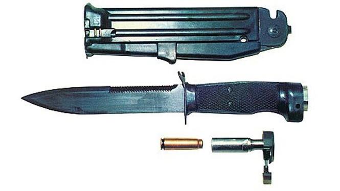 Фото №2 - Стреляющий нож для гражданина Бонда