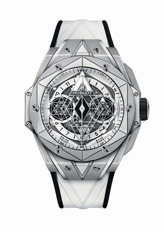 Фото №5 - Идеальная геометрия: чем примечательны новые часы Hublot Big Bang Sang Bleu II