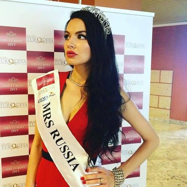 Иркутянка Кристина Мищенко завоевала титул Мисс Европа