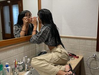 Фото №2 - Мигель Бернардо из «Элиты» опубликовал неудачные фотки своей девушки в честь ее дня рождения 🤣