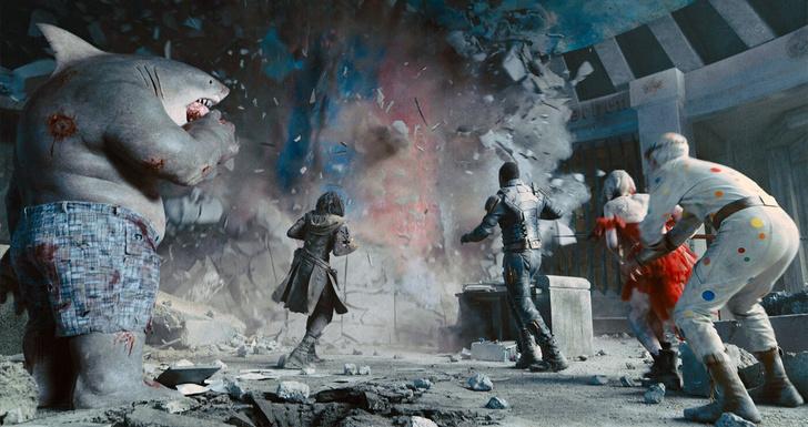 Кадр из фильма «Отряд самоубийц: Миссия навылет» (2021)