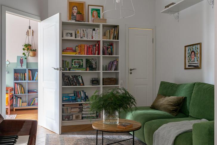 Фото №14 - Яркая квартира семьи декоратора в Москве