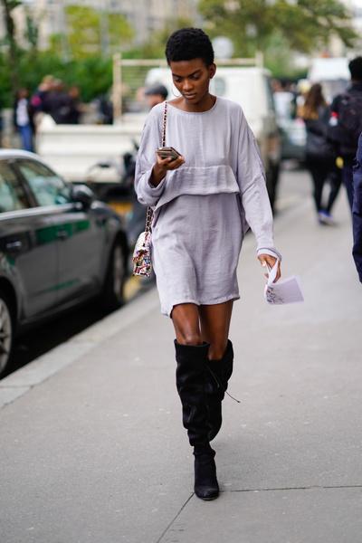 Фото №17 - С чем носить ботфорты
