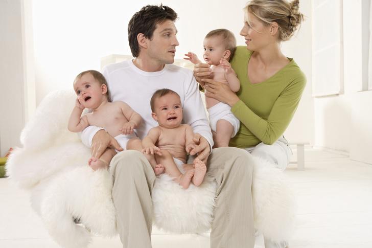 Тройня, выплаты за тройню, выплаты при рождении ребенка, выплаты многодетным мамам