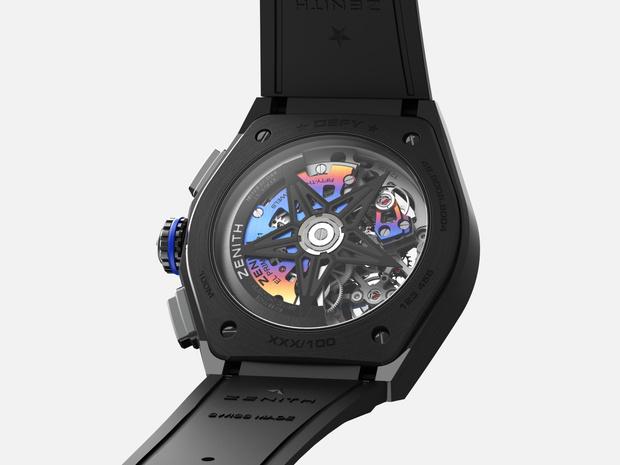 Фото №4 - Крупным планом: часы Zenith, созданные при участии современного художника Фелипе Пантоне