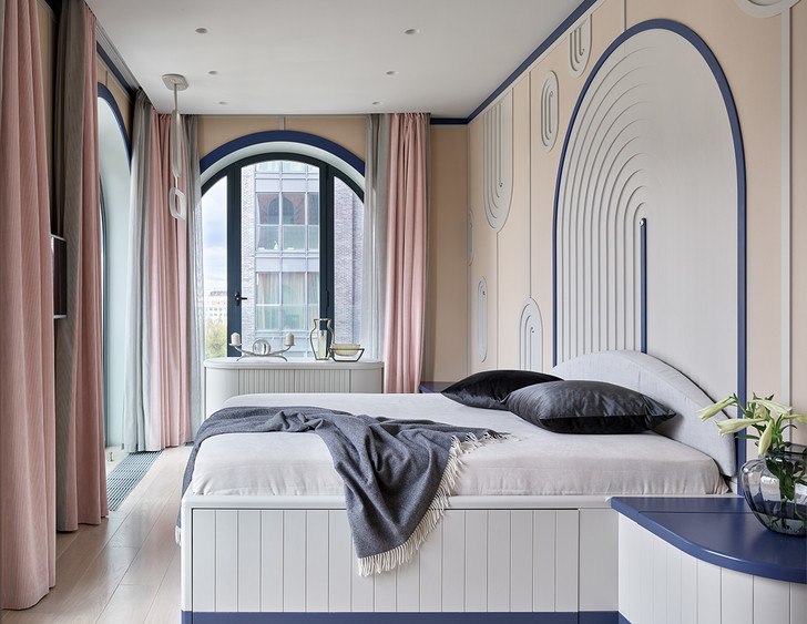 Фото №8 - Квартира 105 м² с необычным дизайном и арочными окнами на ЗилАрт
