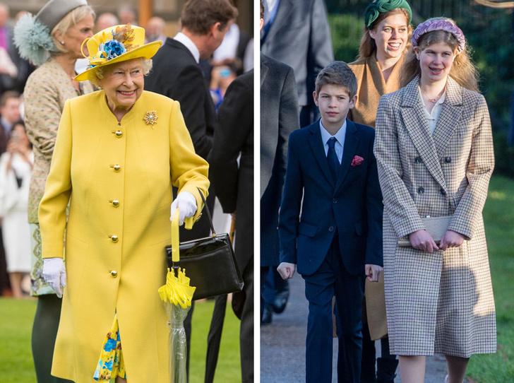 Фото №1 - Особое положение: почему Королева всегда была ближе с младшими внуками, а не со старшими