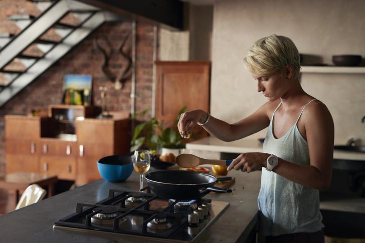 Фото №1 - Газовая плита на кухне повышает вероятность рака у хозяйки