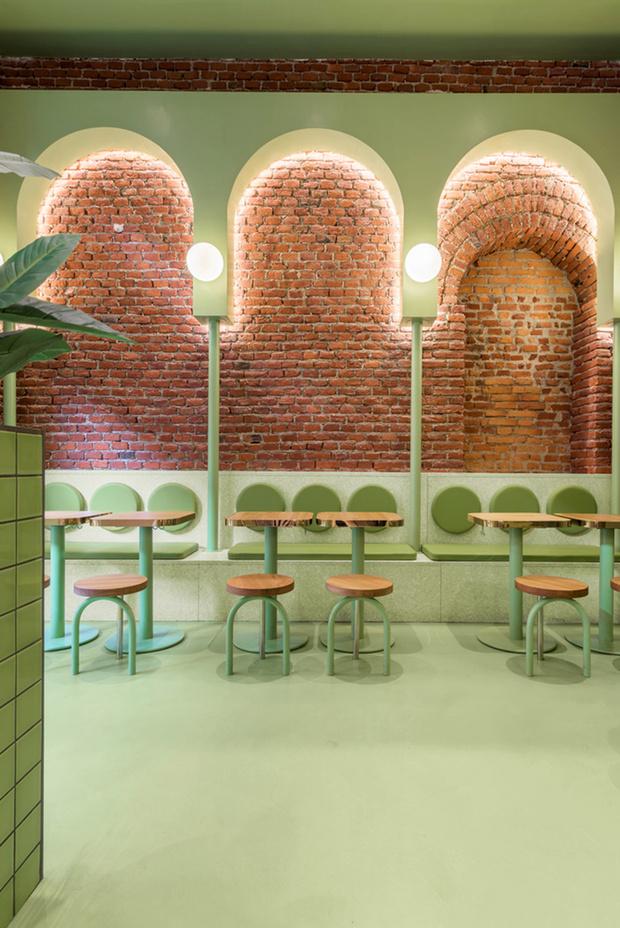 Фото №4 - Яркая закусочная Bun в Милане