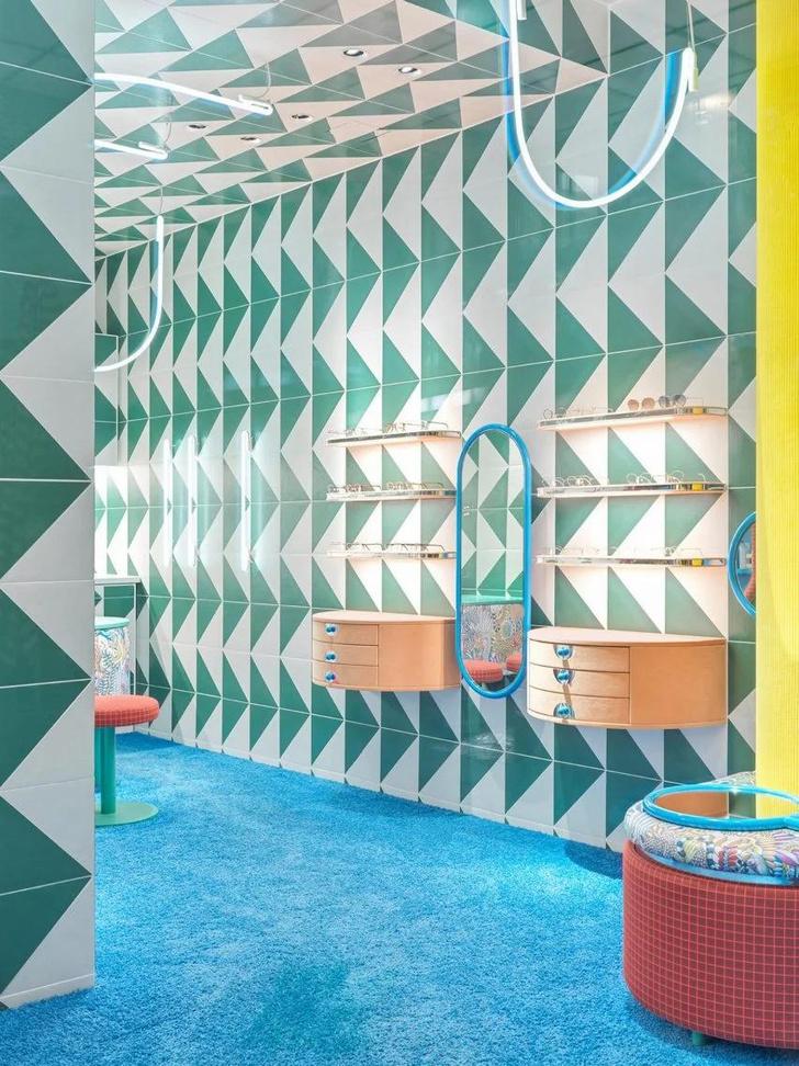 Фото №2 - Яркий магазин детской оптики Rookies в Мюнхене