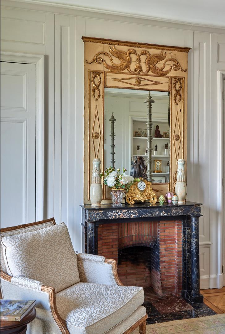 Фото №9 - Парижская квартира с видом на Лувр