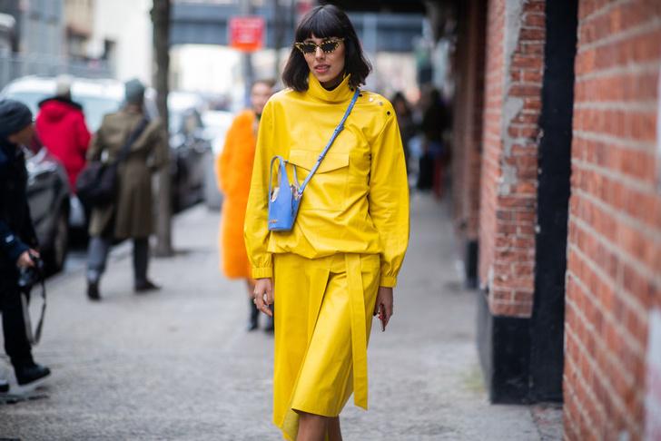Фото №15 - Уроки стритстайла: как носить желтый
