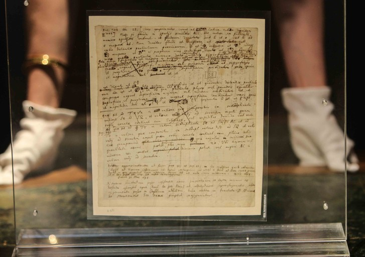 Фото №2 - Рукопись Ньютона ушла с молотка более чем за 2 миллиона долларов