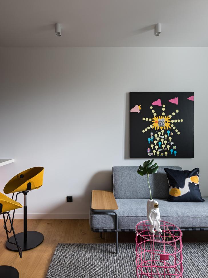 Фото №3 - Яркая квартира 47 м² для молодой девушки в Минске