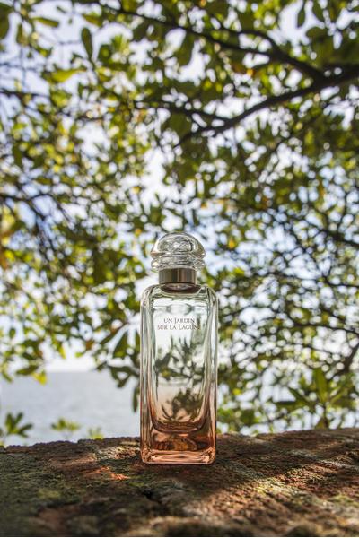Фото №1 - «Un Jardin Sur La Lagune» от Hermès— аромат, который пахнет садом на берегу морской лагуны
