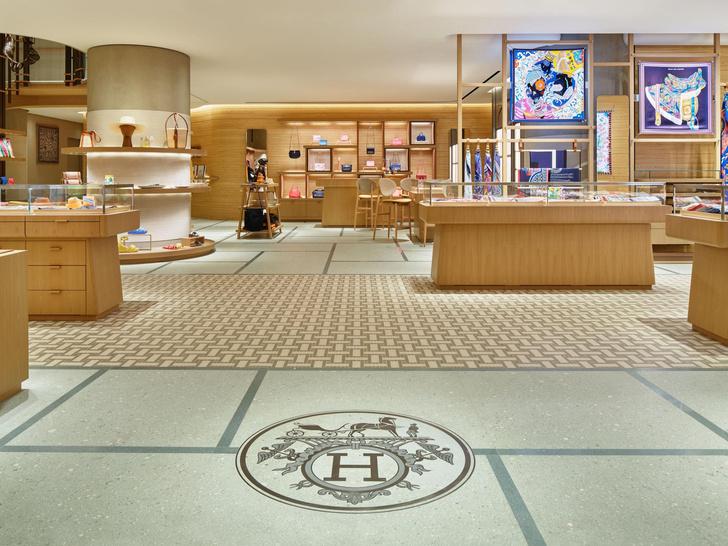 Фото №7 - Новый бутик Hermès в Токио